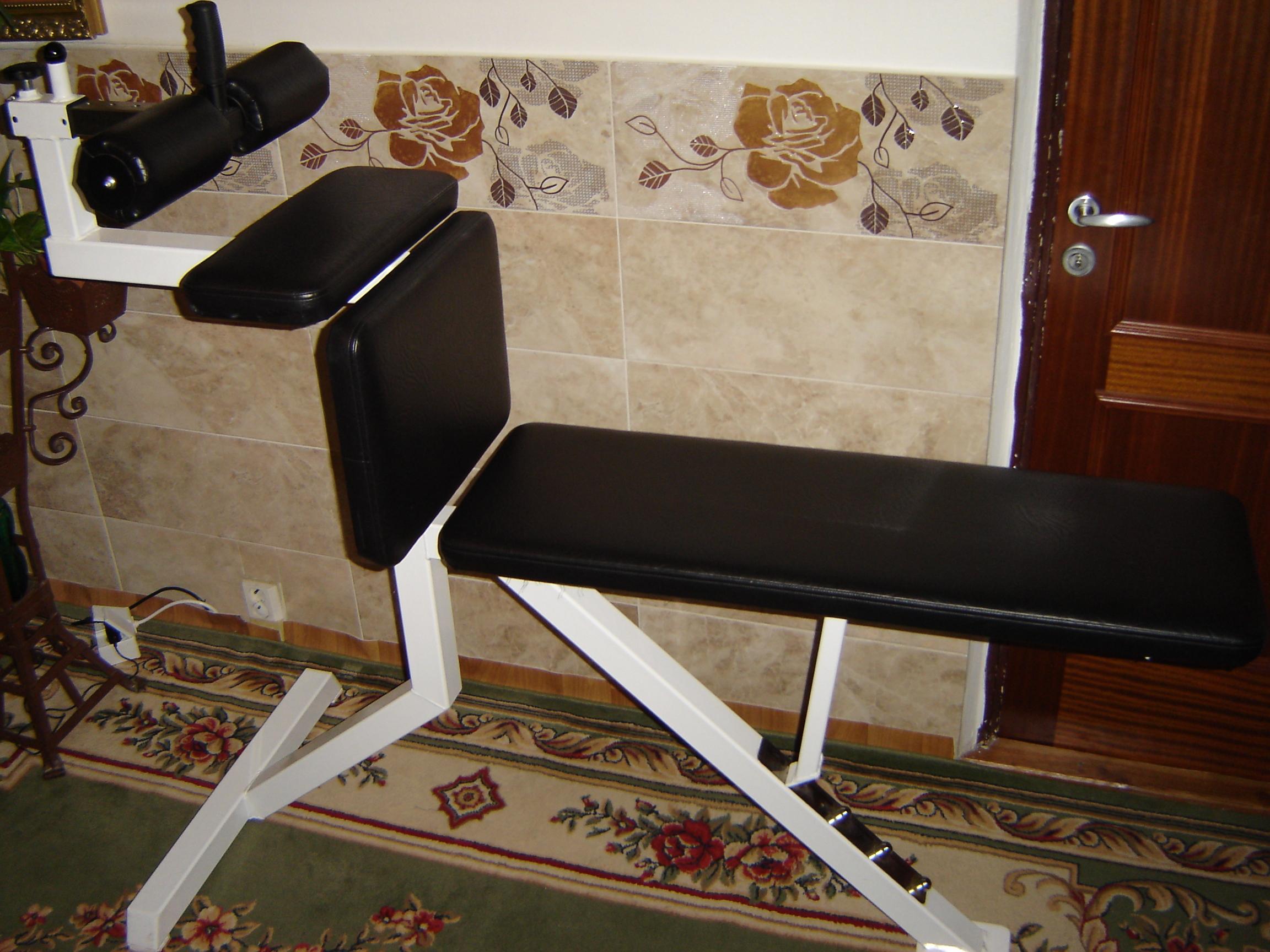 Posilovací lavice na břicho polohovací LAX klasik K505