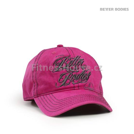čepice Better Bodies růžová kšiltovka