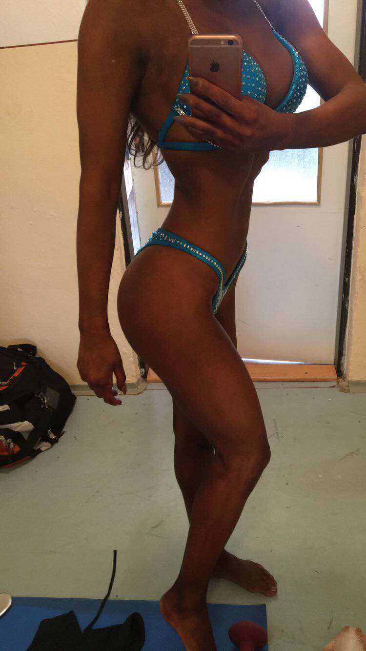 Bikini fitness plavky