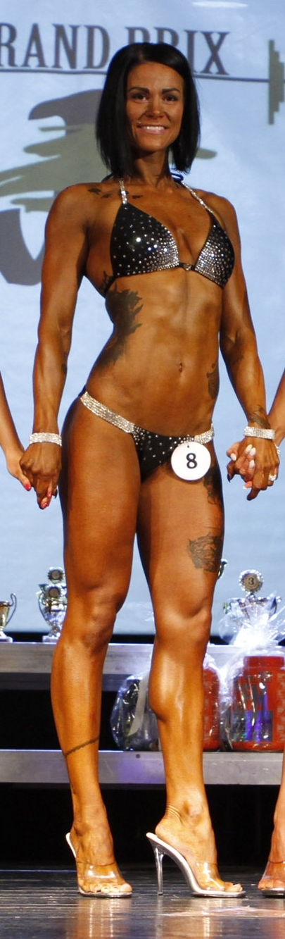 Plavky bikini fitness